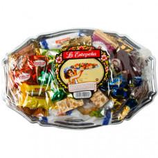Набор испанского печенья и конфет (Польворонес, Мантекадо, Туррон) La Estepeña 0,750кг