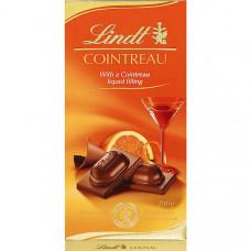 Шоколад молочный с куантро (Линдт) 0,100 кг
