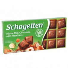 Шоколад молочный с орехом фундук (Шогеттен) 0,100 кг