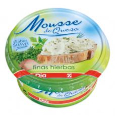 Сыр мягкий с травами (Диа) 0,150 кг