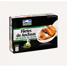 Анчоусы (филе) в оливковом масле (Сал де Плата) 85г