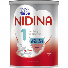 Смесь молочная Nestle NIDINA Premium 1 для детей с рождения 0,800кг