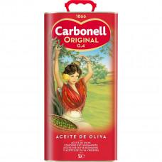 Оливковое масло (мягкое) Карбоней 5л (железная канистра)