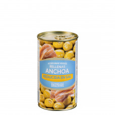 Оливки фаршированные анчоусами (Асендадо) 0,350 кг
