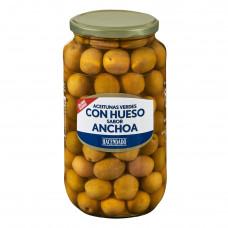 Оливки с косточкой и заправкой из анчоусов (Асендадо) 0,935 кг