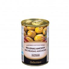 Оливки фаршированные анчоусами (Асендадо) 0,300кг