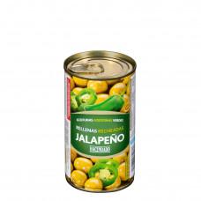Оливки фаршированные перцем халапеньо (Асендадо) 0,350 кг