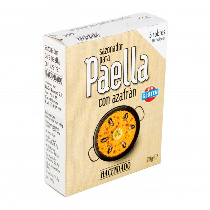 Приправа (специи) для паэльи Асендадо