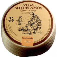 Сыр Манчего Семикурадо (ВЕГА СОТЕЛАМОС) 3 кг