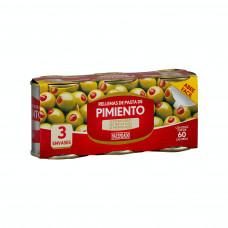 Оливки фаршированные перцем (Асендадо) 0,360кг