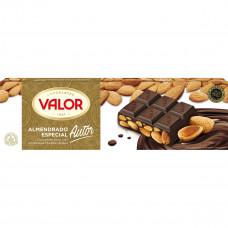 Шоколад (авторский) чисто черный с цельным миндалем (Валор) 0,500 кг