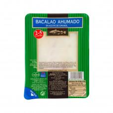 Бакалао треска копченая нарезка в растительном масле 0,110кг (Убаго)