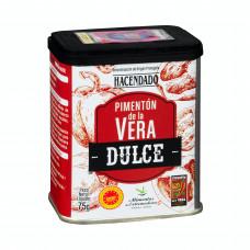 Перец красный копченый сладкий паприка молотый (Асендадо)