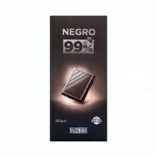 Шоколад экстра черный 99% какао (Асендадо) 0,100 кг