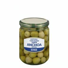 Оливки с косточкой с заправкой из анчоусов (Асендадо) 0,430 кг