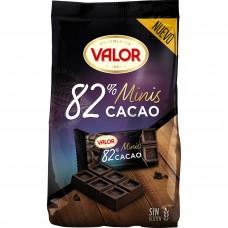 Шоколад экстра черный 82% какао (Валор) 0,171 кг