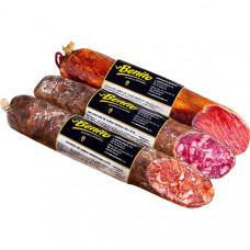 Набор колбас сальчичон бейота 50%, чоризо бейота 50% и ломо 50% себо (Бенито) 1,5 кг
