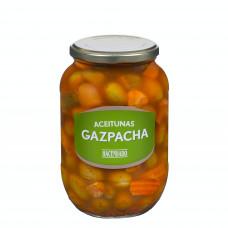 Оливки без косточки в маринаде гаспачо (Асендадо) 0,835 кг