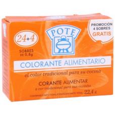 Приправа усилитель цвета для паэльи на 24 пакетиков (Потэ)