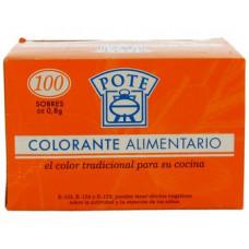 Приправа усилитель цвета для паэльи на 100 пакетиков (Потэ)