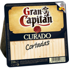 Сыр Гран Капитан Курадо (нарезка) 0,210 кг