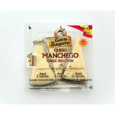 Сыр Овеха Манчего Ассорти выдержки 3,6,12 мес (клины) 0,110 кг