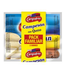 Сосиски франкфуртские с сыром (Кампофрио) 3 уп. по 0,340кг
