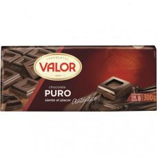 Шоколад чисто черный (Валор) 0,300 кг