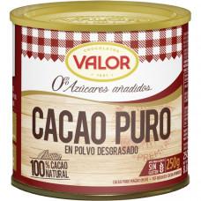 Горячий шоколад 0% сахара Валор 0,250кг
