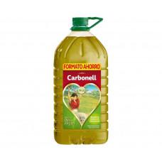 Оливковое масло смесь рафинированного и нерафинированного виржен (Карбоней) 5л