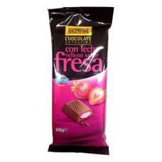 Шоколад молочный с клубничной начинкой (Асендадо) 0,100 кг