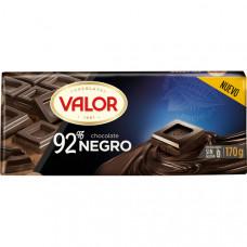Шоколад экстра черный 92% какао (Валор) 0,170 кг