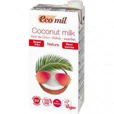 Молоко кокосовое БЕЗ САХАРА 1л (Экомил)