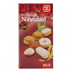Набор испанских сладостей туррон, мантекадо, польворон (ассорти) 0,800кг