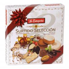Набор испанских сладостей туррон, мантекадо, польворон (ассорти) 0,850кг